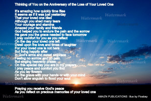 Anniversary of Loss of Loved One