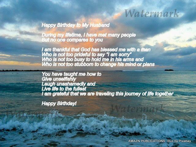 Happy Birthday Husband Ecard