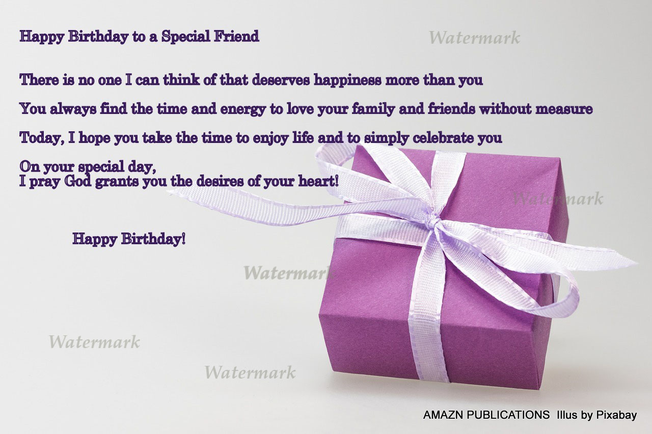 Happy Birthday Friend Ecard
