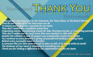 Thank You Volunteer - Copy
